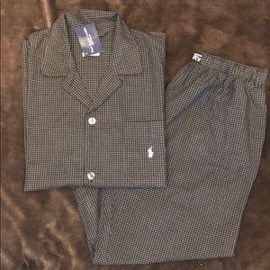 Nwt Mens Ralph Lauren Cotton Pajama Set